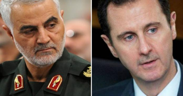 """""""الأخبار"""" اللبنانية تكشف سرًا يتعلق بزيارة بشار الأسد إلى طهران وقاسم سليماني"""