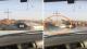 كأنه مشهد هوليودي.. تصادم الموت بين سيارة مثل الصاروخ وسفينة الصحراء في السعودية (فيديو)