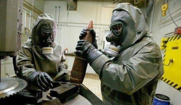 مصادر تركية: نظام الأسد يستعد لاستخدام غازات كيميائية بمحيط إدلب لاتهام  ثوارها | الدرر الشامية