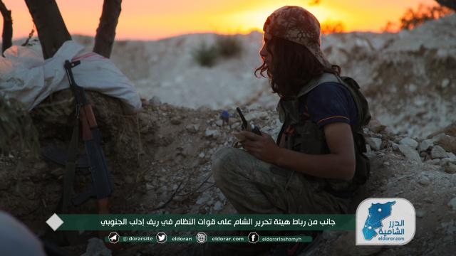 رباط هيئة تحرير الشام على قوات النظام في ريف إدلب الجنوبي