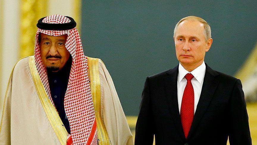 بوتين يفاجئ الملك سلمان بهدية غير متوقعة (فيديو)