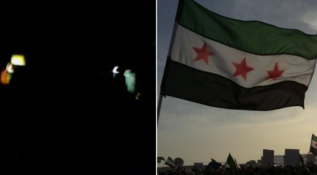 """أجواء الثورة في معقل بشار الأسد.. """"الله محيي الجيش الحر"""" تزلزل ليل اللاذقية (فيديو)"""