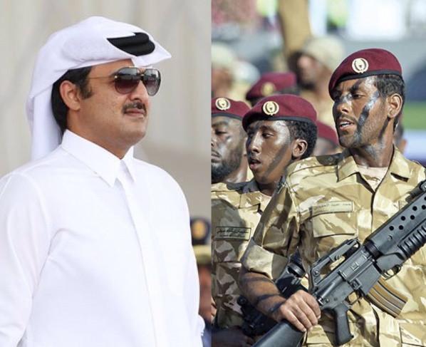 """أول ظهور للأمير تميم بن حمد بعد أنباء انقلاب قطر ومقتل شيوخ من """"آل ثاني"""""""