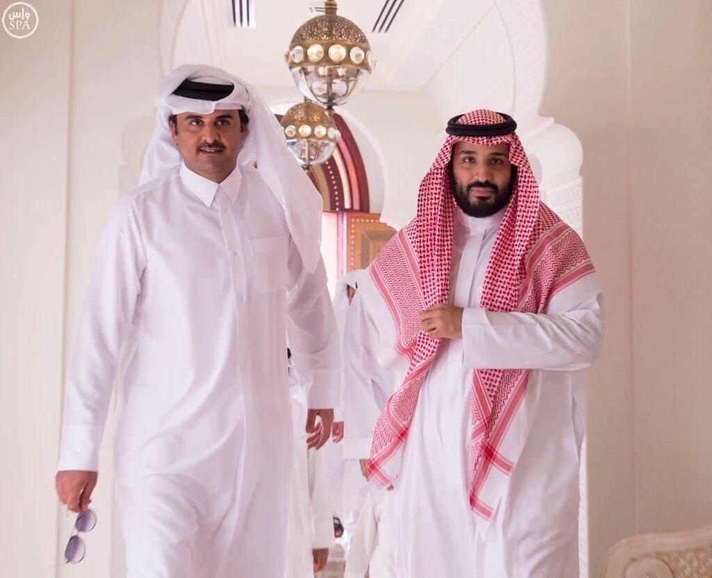 تقرير استخباراتي يفجر مفاجأة: محمد بن سلمان قدم عرضًا إلى تميم بن حمد بشأن إيران.. والرد صادم