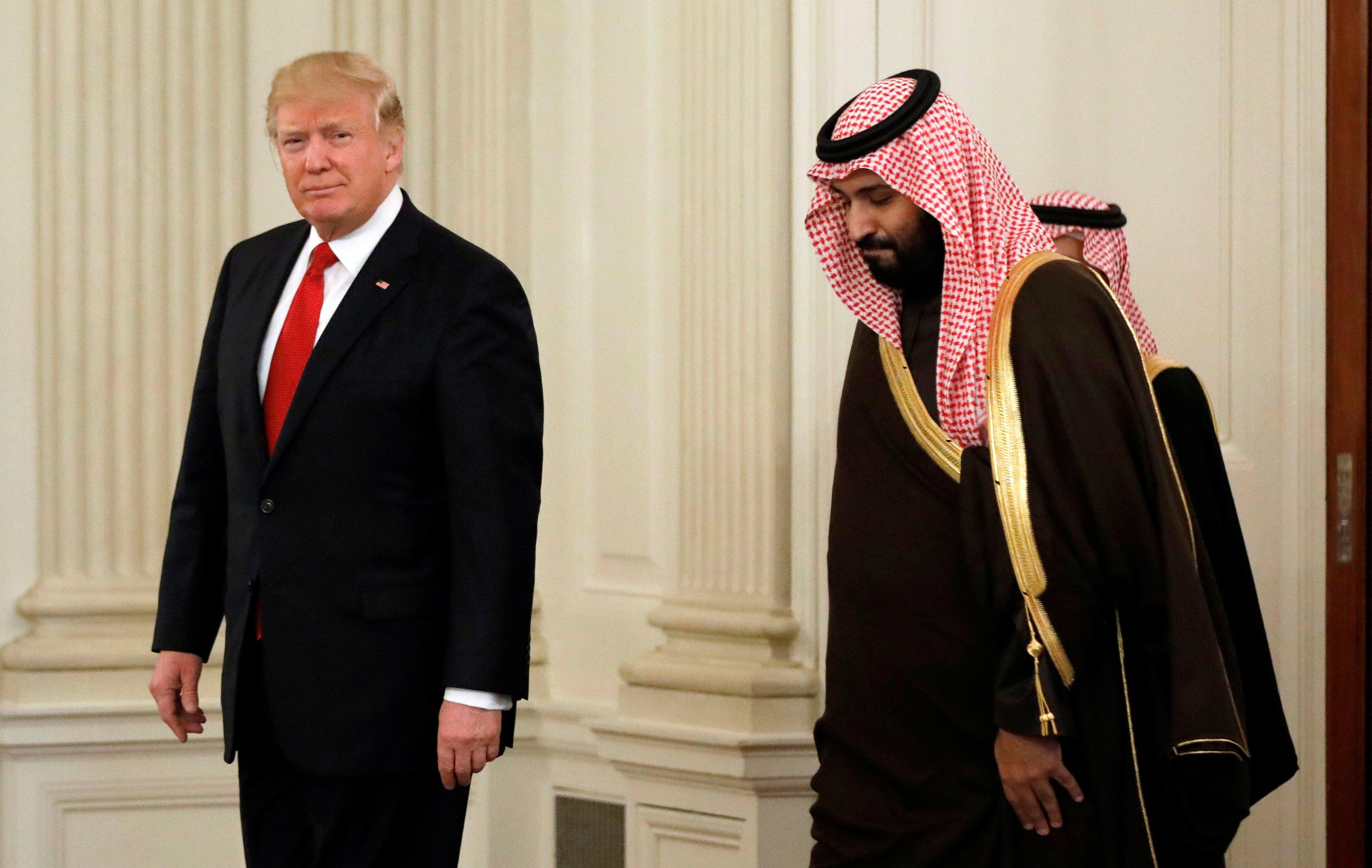 """""""فايننشال تايمز"""" تكشف انقلابًا من """"ترامب"""" على محمد بن سلمان"""