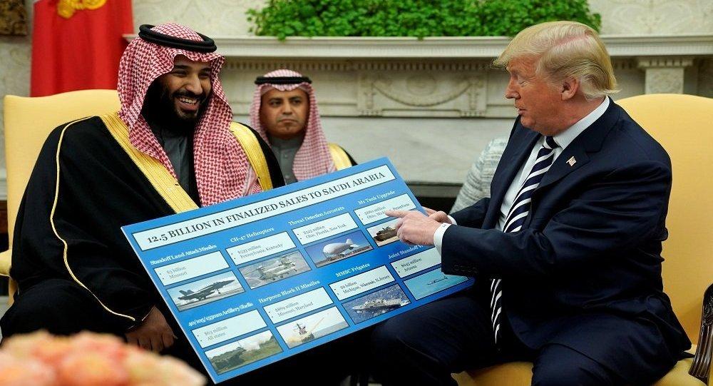 """""""ترامب"""" يكشف مفاجأة جديدة عن """"الملك سلمان"""" ومحمد بن سلمان.. مليارات إضافية"""