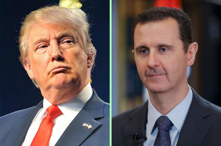 """""""ترامب"""" يصدم النظام السوري بقرار جديد.. ويوجه رسالة إلى بشار الأسد"""