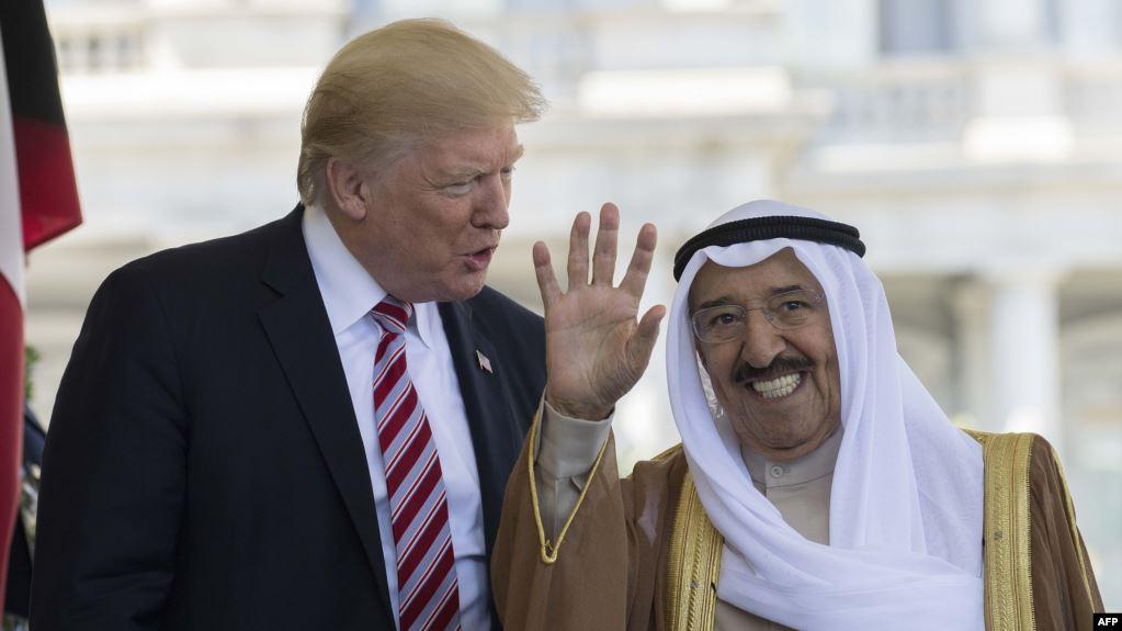 """أمير الكويت يطلب من """"ترامب"""" تنفّيذ خطوة لم تحدث في أي دولة عربية سوى السعودية"""