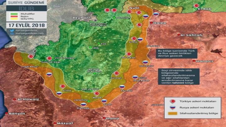 """تركيا تكشف بنود """"اتفاق إدلب"""": فقط السلاح الخفيف سيبقى بيد المعارضة المعتدلة"""